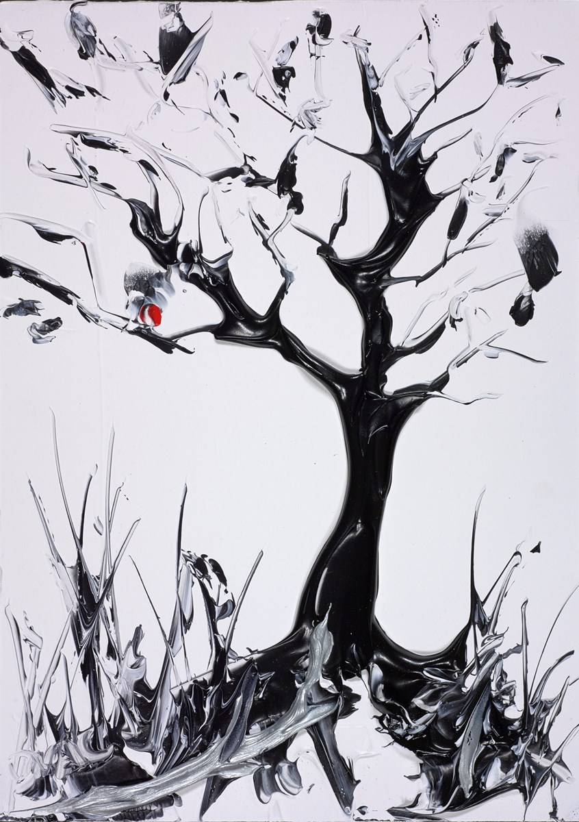Midnight Tree by duncan macgregor -  sized 9x12 inches. Available from Whitewall Galleries